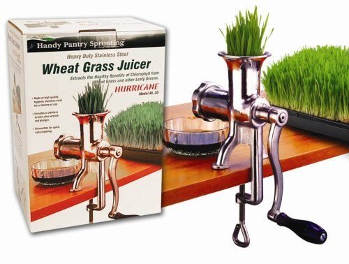 manual juicer for wheatgrass